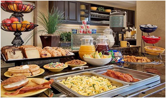 Options for Breakfast Buffet